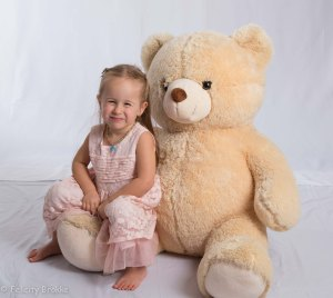 Image of girl with Teddy bear