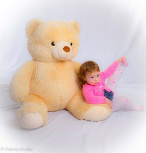 Image of girl with teddy