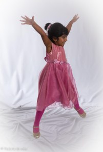 Image of girl jumping