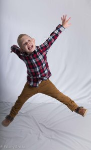 Image of boy jumping