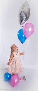 Image of girl with balloons